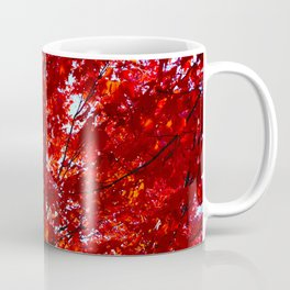 Sun Through Maple Leaves Coffee Mug
