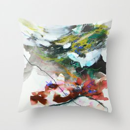Day 84: In most cases reflecting on things in a cosmic context reveals triviality. Throw Pillow