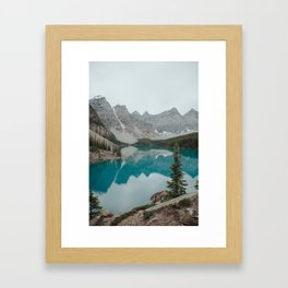 Moraine Lake, Banff National Park Framed Art Print