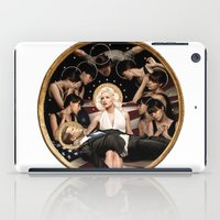 jfk iPad Cases featuring Forever Marilyn Monroe  by Chess Ordinary
