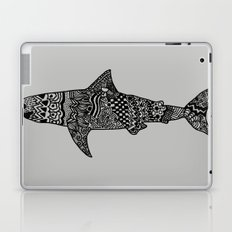 Doodle Shark Laptop & iPad Skin