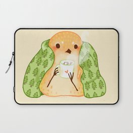 Cozy Canaries- Cocoa Canary  Laptop Sleeve