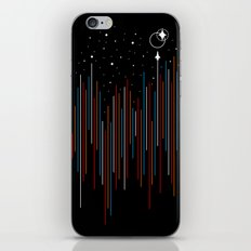Through The Cosmic Rays iPhone & iPod Skin
