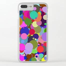 Circles #3 - 03082017 Clear iPhone Case