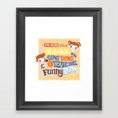 twinkie love Framed Art Print