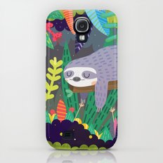 Sloth in nature Slim Case Galaxy S4