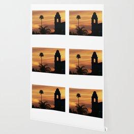 Modern Santa Cruz CA Sunset Wallpaper