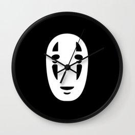 Minimal Cinema - Kaonashi/Spirited Away Wall Clock