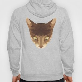 triangular cat Hoody