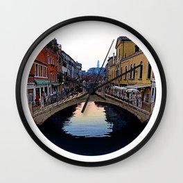 Venice, Italy Morning Wall Clock