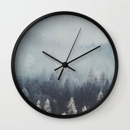 Fire and desire Wall Clock