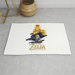 Zelda Breath of the Wild - The Silent Princess Rug
