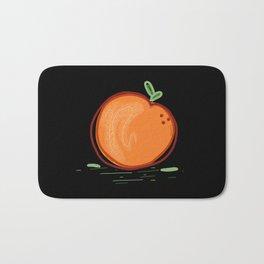 Orange. Bath Mat