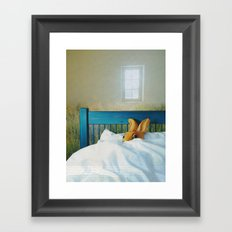 safety Framed Art Print