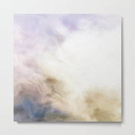 Marbled agate texture Metal Print