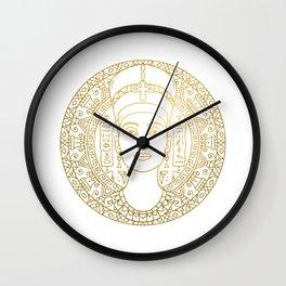 Nefertiti Mandala – Egypt Wall Clock