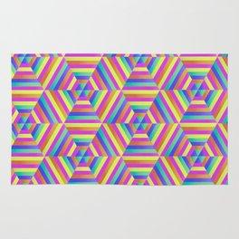 Kaleidoscope Hex Rug