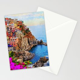 Italy, Cinque Terre Stationery Cards