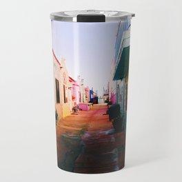 Colorful Capitola Travel Mug
