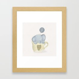 little elephant Framed Art Print
