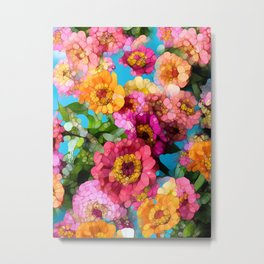 Summer Colors Metal Print
