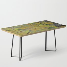 """""""The Green Energy"""" Ecologic atypic art by WHITEECO Ecologic design Coffee Table"""
