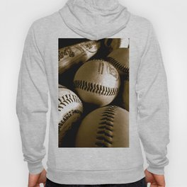 Baseball Days in B&W Hoody