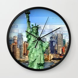City of New York - Statue of Liberty Wall Clock