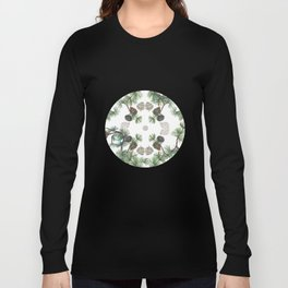 Let Love Grow, Pinecone Close-up Long Sleeve T-shirt