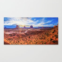 Monument Valley, Utah No. 2 Canvas Print