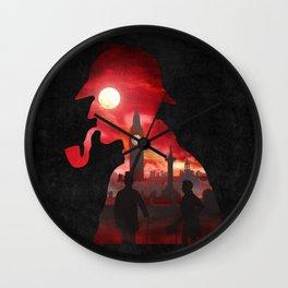 The Beginning of a Friendship Wall Clock