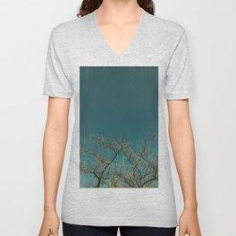 Tree branches Unisex V-Neck