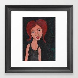 Unsure Framed Art Print