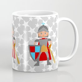 Brave medieval knight Coffee Mug