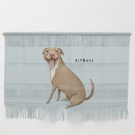 Pitbull Wall Hanging