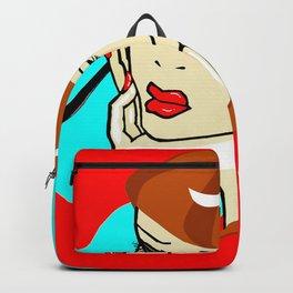 A Redheaded Vamp Artist Backpack