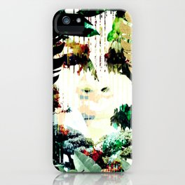 Godess of the Plants iPhone Case