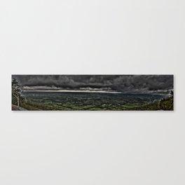 The Dark Clouds Panorama Canvas Print
