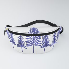 Pine Trees – Navy Fanny Pack