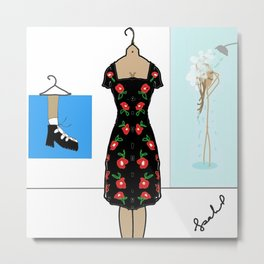 Get Ready With Me Metal Print