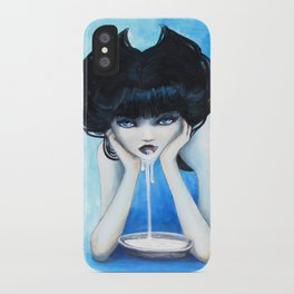 Selina the Cat Girl iPhone Case