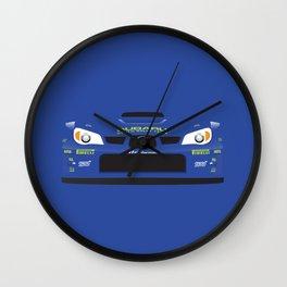 Minimal Impreza rally prototype Wall Clock