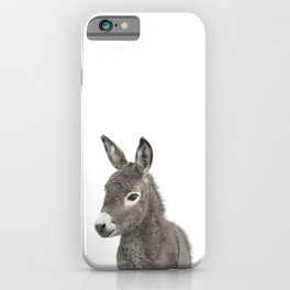 Baby Donkey iPhone Case
