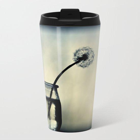 dandelion XX Metal Travel Mug