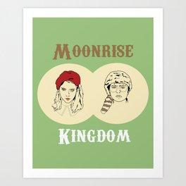 Moonrise Kingdom  Art Print