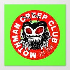 Mothman Creep Club Canvas Print