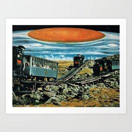 Jupiter FLASH Art Print