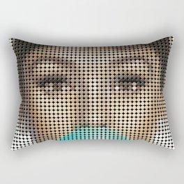 Audrey Hepburn Portrait Rectangular Pillow