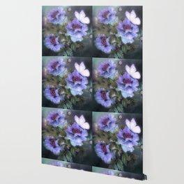 PEONIES IN BLOOM 02 Wallpaper