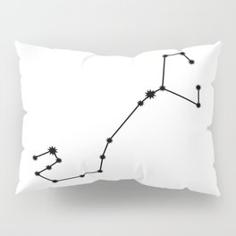 Scorpio Astrology Star Sign Minimal Pillow Sham